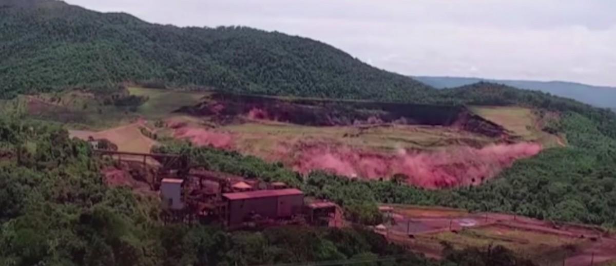 VIDEO – Momentul în care un baraj cedează în Brazilia. Aproape 200 de victime