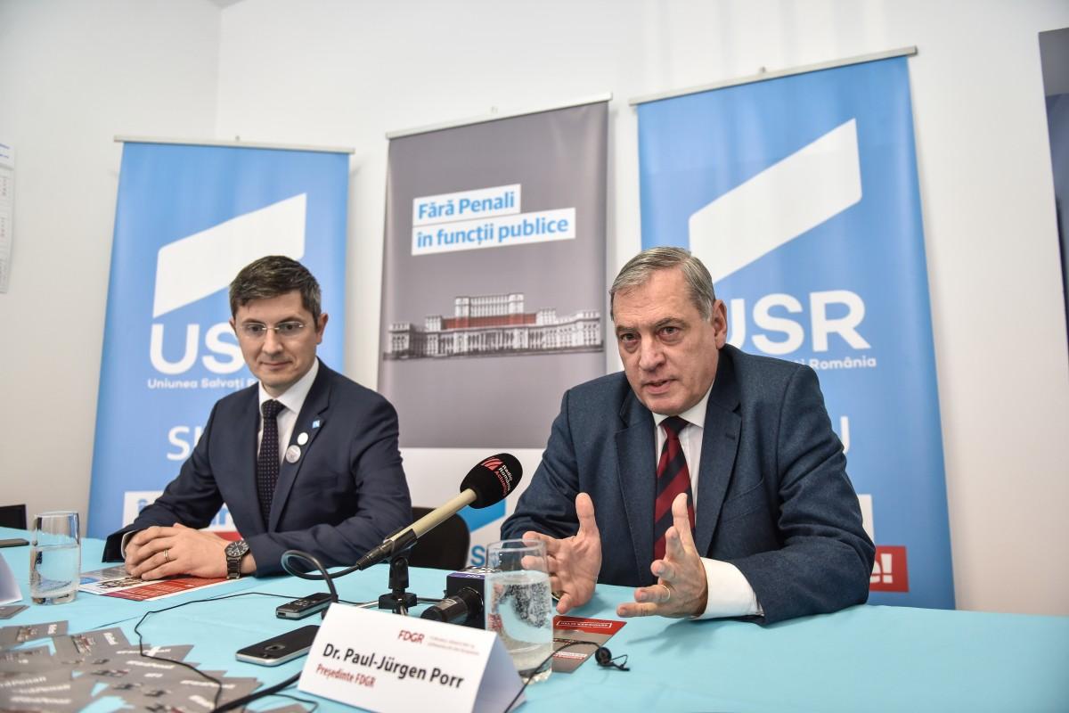 """Campania """"Fără penali în funcții publice"""", lansată la Sibiu. """"Toate partidele sunt invitate în acest demers"""""""