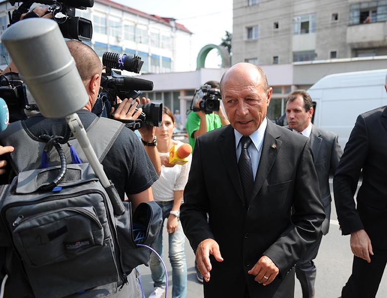 """Băsescu, ironic la adresa noilor șefi ai UE. """"Ce frumos suna Declaraţia de la Sibiu!"""""""
