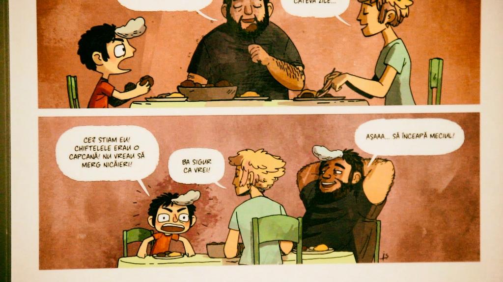 """Concurs de benzi desenate cu tema """"A fost odată ca niciodată...în Sibiu"""""""