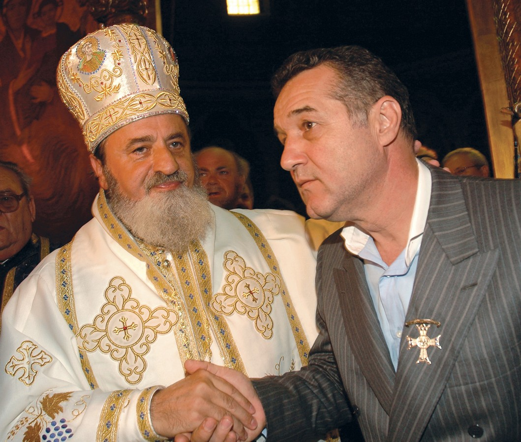 Mitropolitul Ardealului, ÎPS Streza, coordonatorul științific al pușcăriașului Gigi Becali. Și lista continuă…