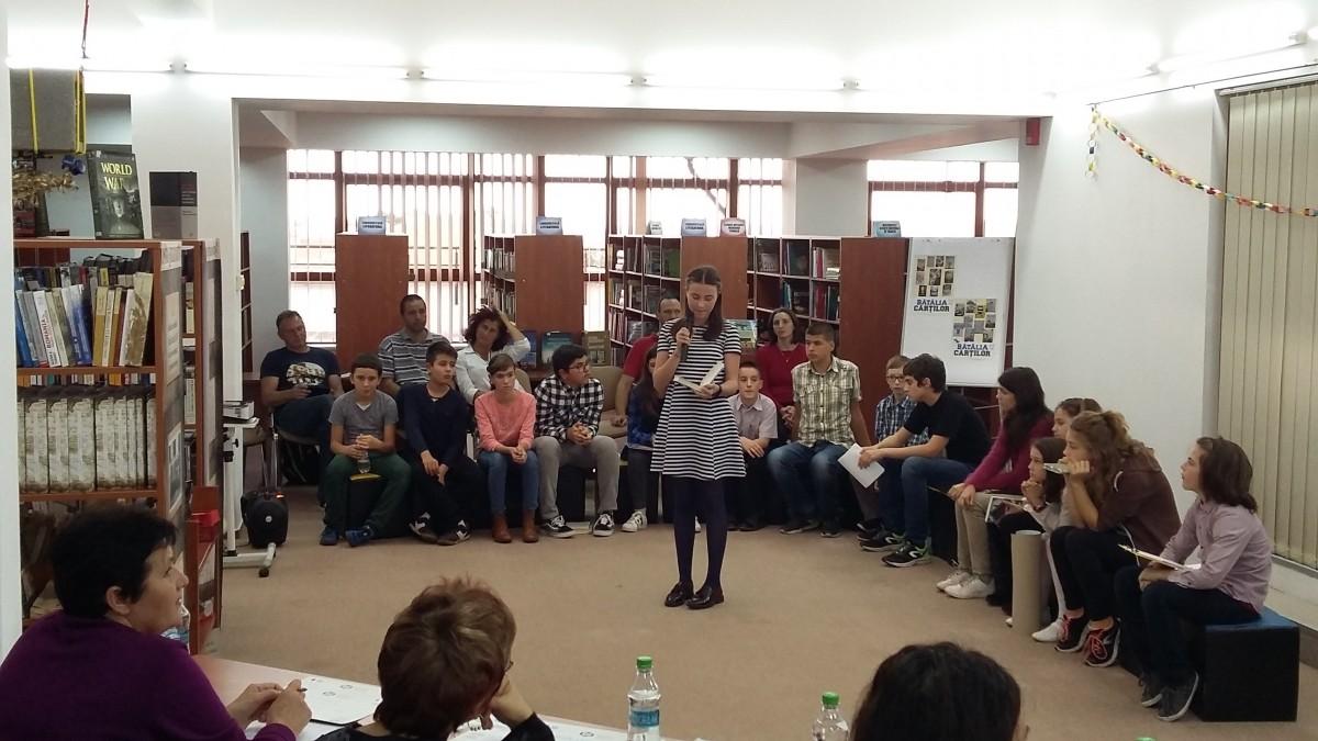 Bătălia cărților la Biblioteca Astra– Victoria tinerilor pasionați de lectură (CP)