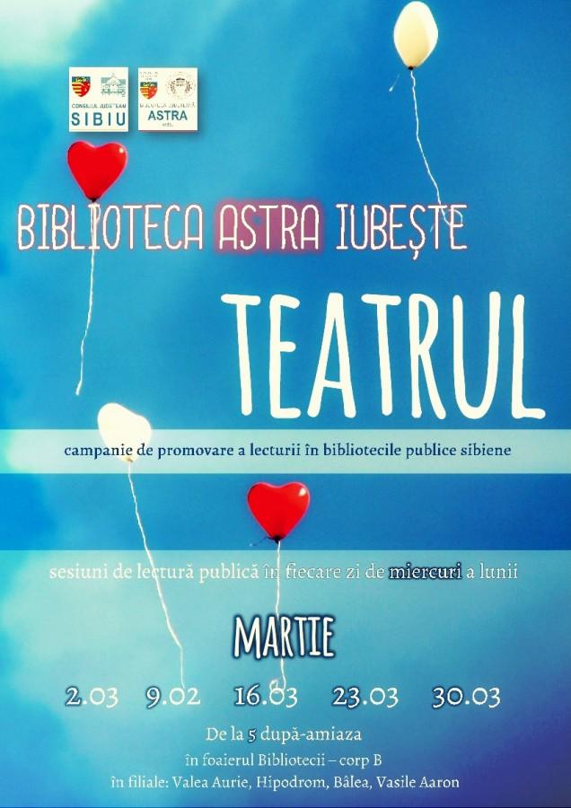 Biblioteca ASTRA continuă campania de promovare a lecturii în bibliotecile publice sibiene