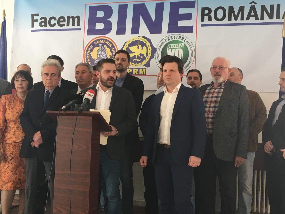 S-a formato nouă alianță politică: