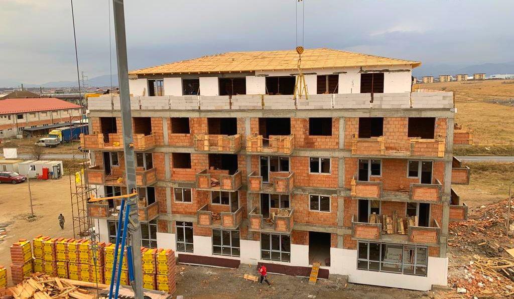 West Side Park Residence Sibiu–Primele blocuri aproape finalizate-Apartamente de la 42.400 euro