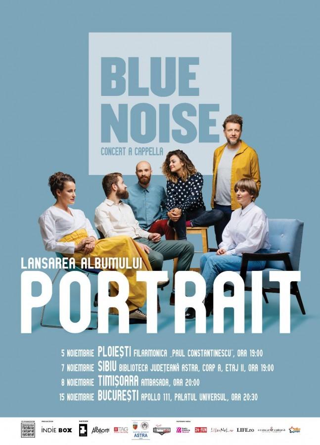 Premieră muzicală la Sibiu – trupa Blue Noise lasează primul album a cappella din România