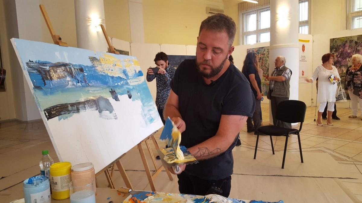 """Artistul Bogdan Mihai Radu s-a întors acasă - """"Am emoții""""   FOTO VIDEO"""