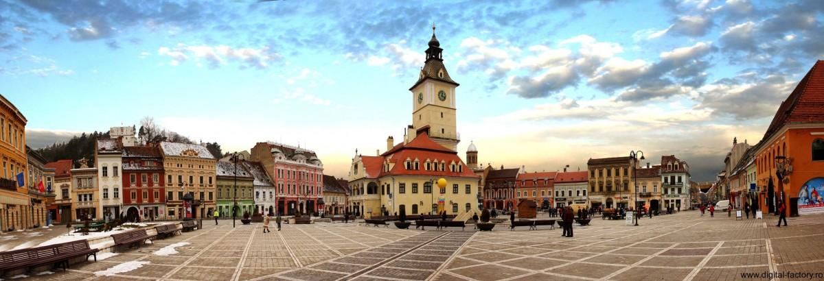 Cum repară Brașovul centrul istoric. 50% proprietarii, 50% primăria