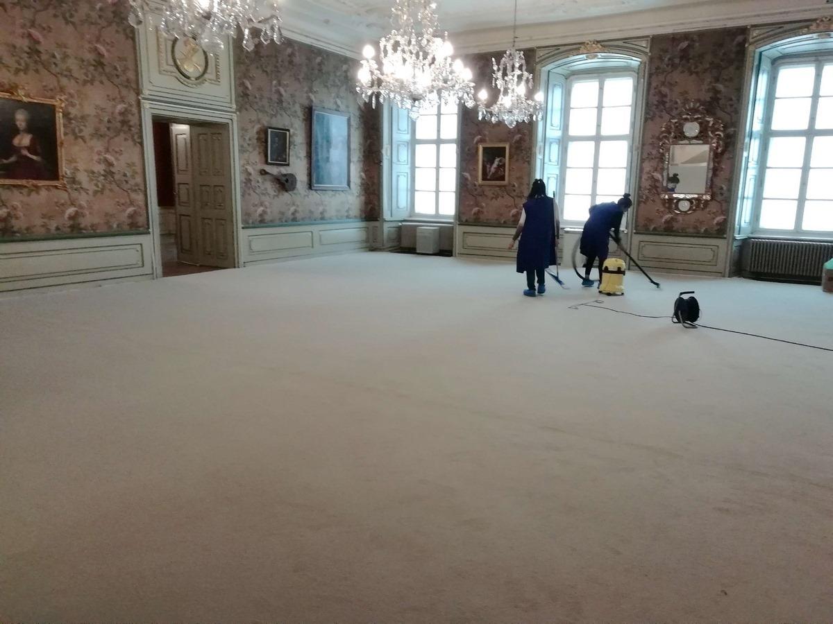 FOTOCe nu s-a văzut la Summit. Cum s-a pregătit Palatul Brukenthal pentru a-i găzdui pe cei 27 de lideri UE