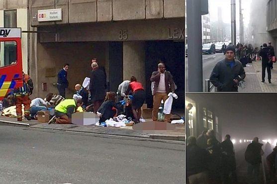 Numărul victimelor atacurilor teroriste din Bruxelles a ajuns la 34 de morți și peste 200 de răniți