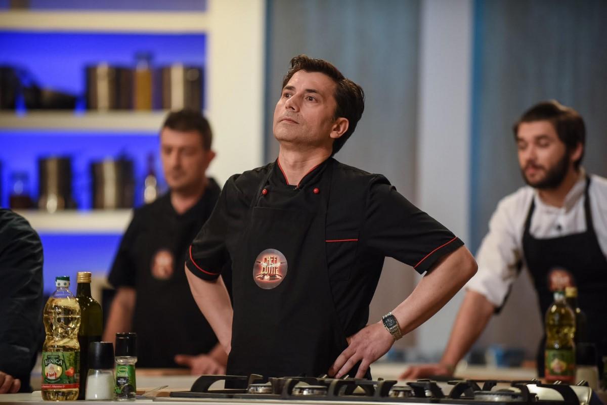 """Doi sibieni pasionați de arta culinară, la show-ul """"Chefi la cuțite """""""