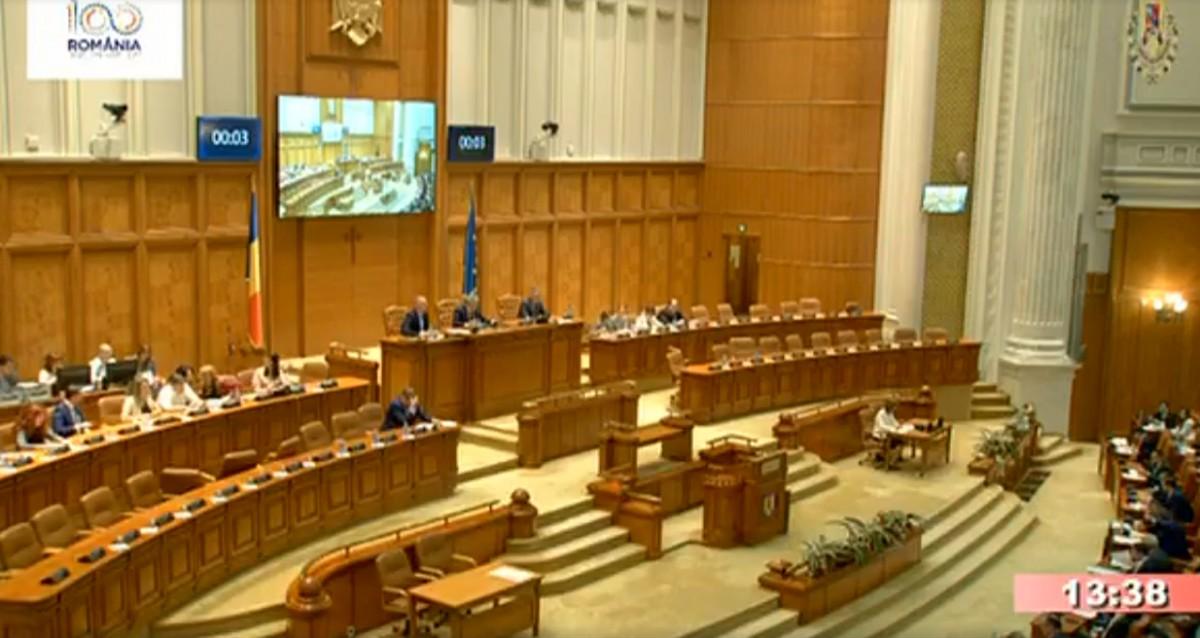 Video. Modificările la Codul Penal au trecut şi de Camera Deputaţilor,cu doar două voturi peste minimul necesar