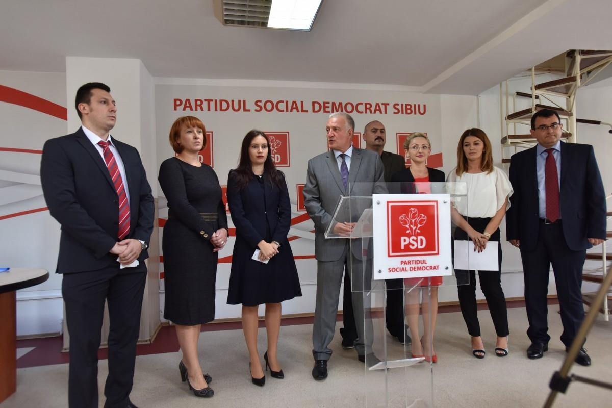 Lista lui Cindrea. Cine sunt candidații care vor reprezenta PSD Sibiu la parlamentare
