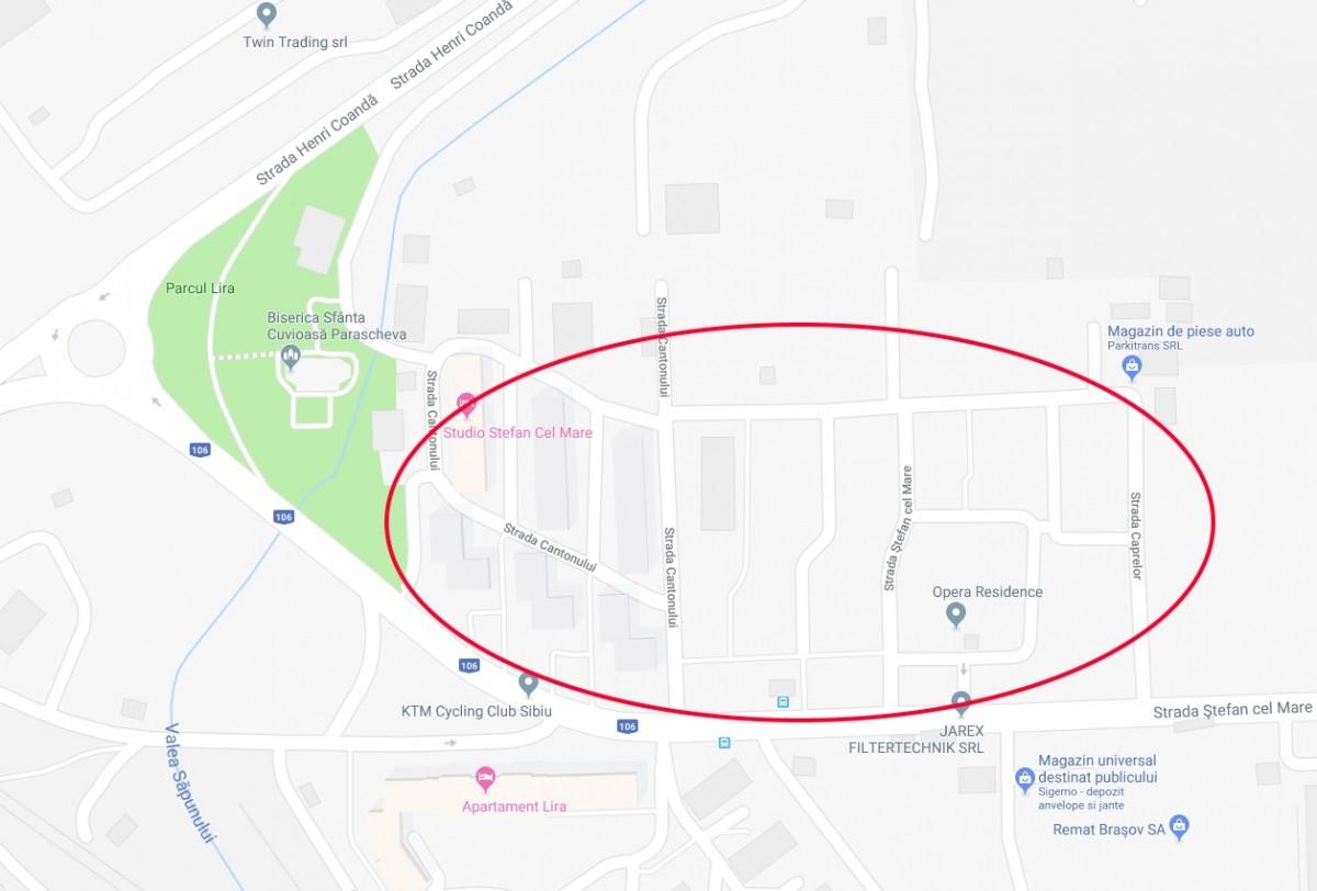 Primăria Sibiu a contractat lucrările de reparații capitale a străzilor și aleilor din zona Ștefan cel Mare nr. 147 (Broscărie) (CP)