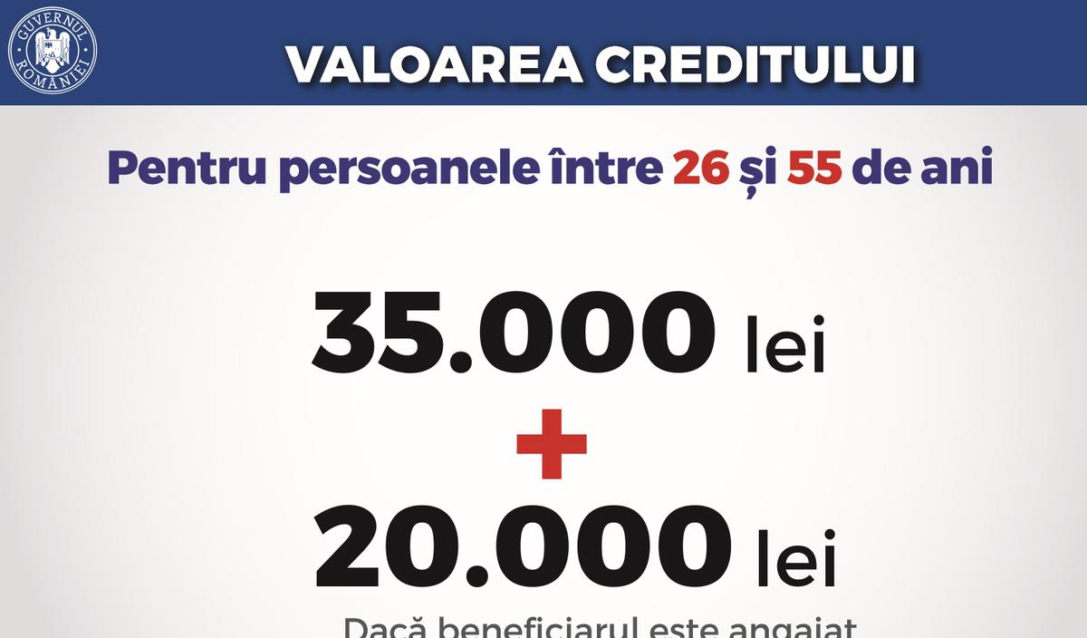 Guvernul anunţă credite garantate de stat, cu dobândă zero, pentru investiţii în dezvoltare personală