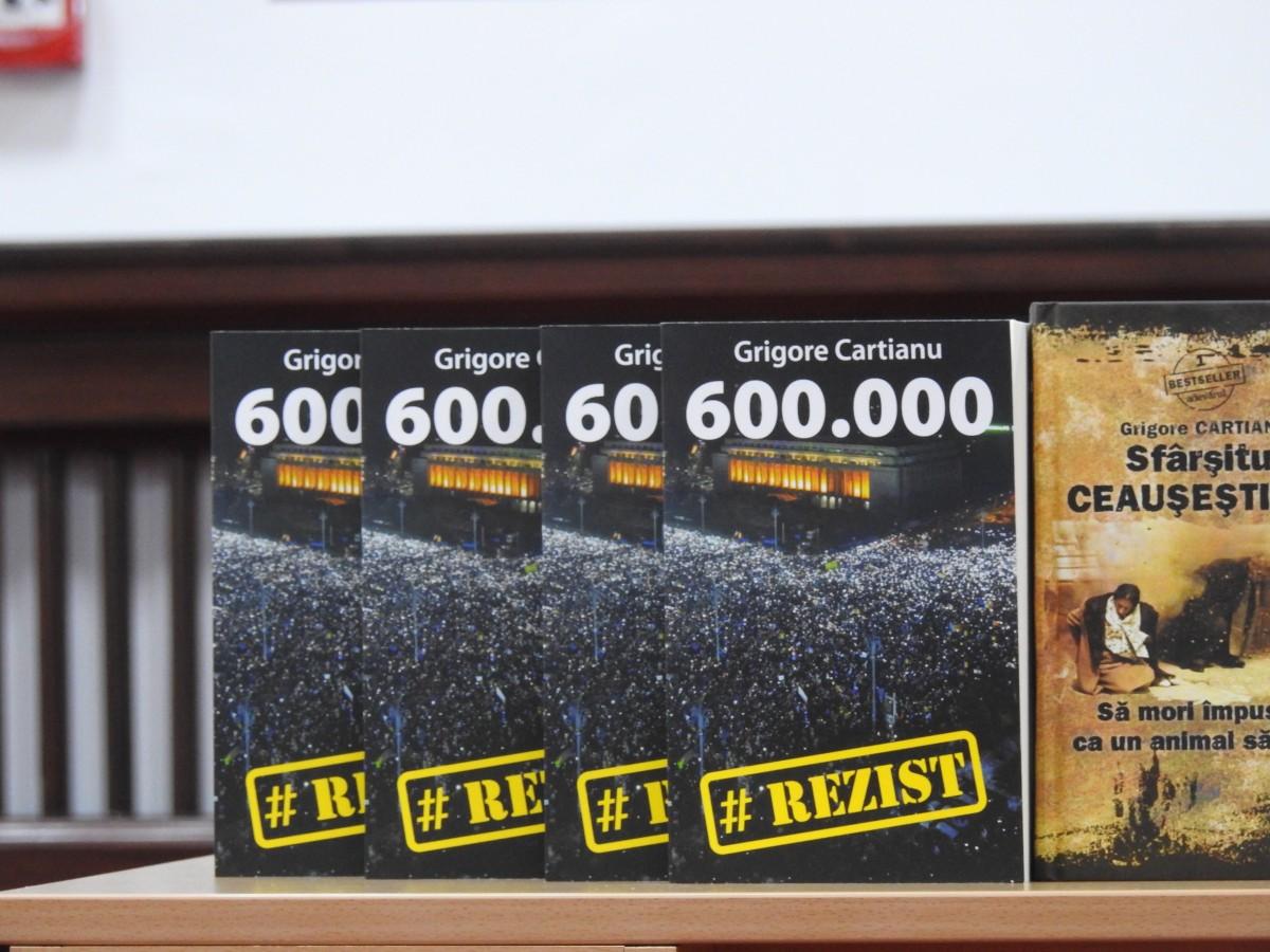 """Lansarea """"600.000 #Rezist"""": """"Aici, la Sibiu, 25% din populație a fost în stradă. Este extraordinar"""""""