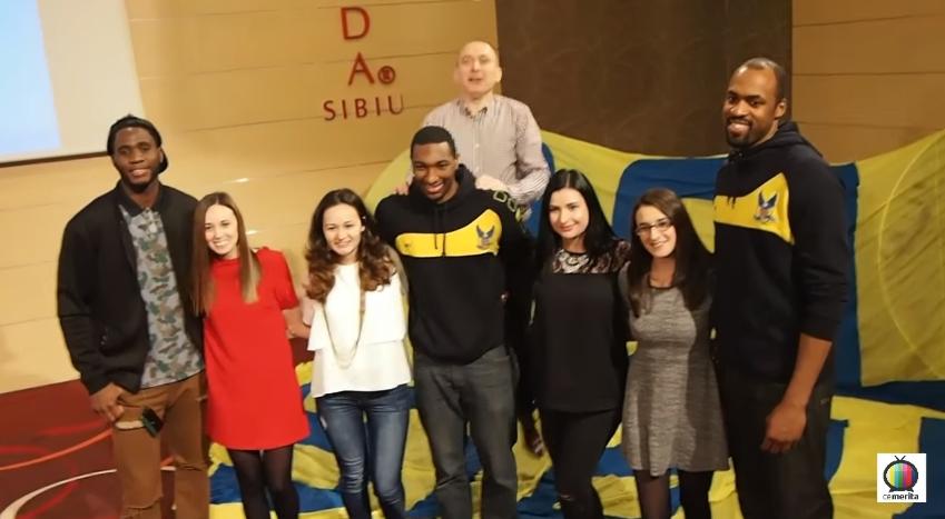 VIDEO | Petrecerea CSU Sibiu – CSU Fans. Cum s-au distrat jucătorii şi fanii