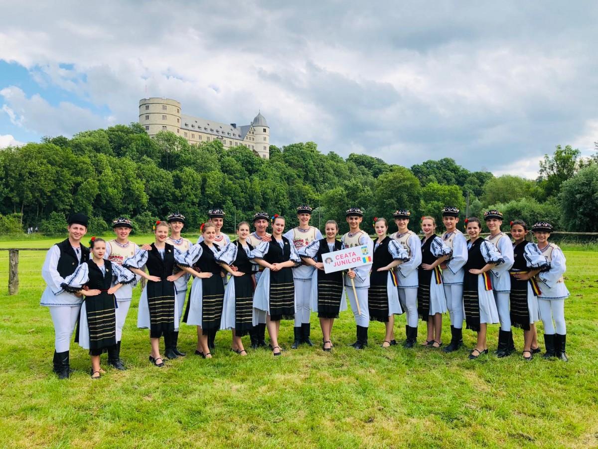 Junii Sibiului, ambasadori ai județului nostru, în Germania