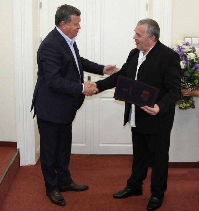 Constantin Chiriac, cetățean de onoare al municipiului Râmnicu Vâlcea