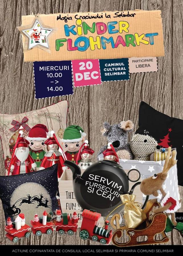 Evenimentele de Crăciun din Șelimbăr: concerte, ateliere pentru copii, târg de jucării, patinoar