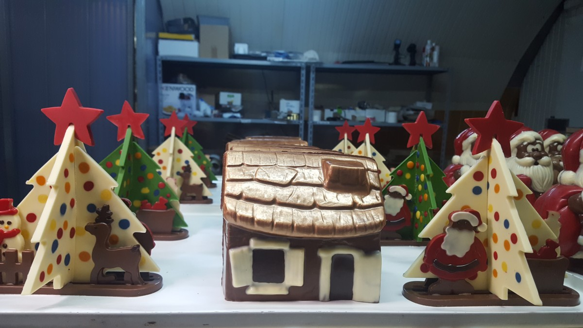 La Cisnădie se poate construi orășelul Moșului, din ciocolată
