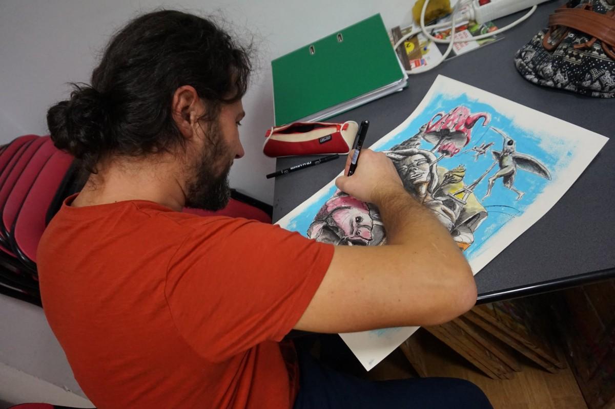 Ciprian Badiu și Catrinel Dragomir vor expune în Orașul Artiștilor, în septembrie
