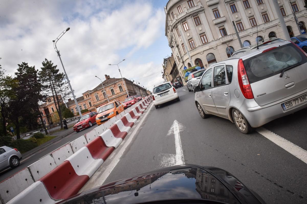 Măsuri speciale pentru gestionarea traficul auto pe șoseaua Alba Iulia și pe străzile Andrei Șaguna și Morilor în data de 9 mai