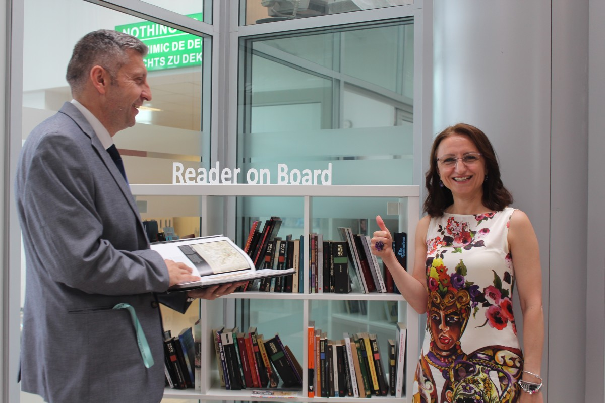Cititor la Bord împlinește un an. Au beneficiat 4.700 de cititori