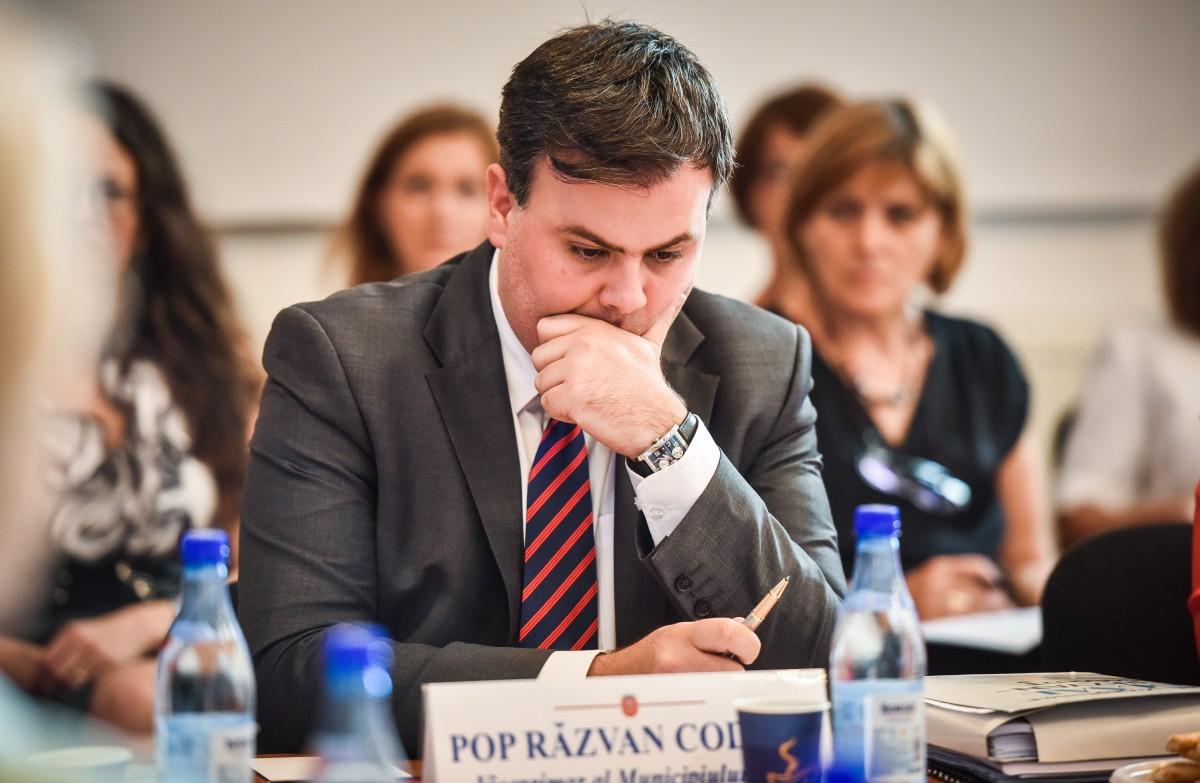 Viceprimarul Răzvan Pop și-a depus demisia. Urmează alegeri
