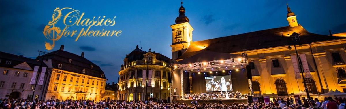 """Mâine începe """"Classics for Pleasure"""" Special Edition. Șapte concerte în Piața Mare și Biserica Ursulinelor"""