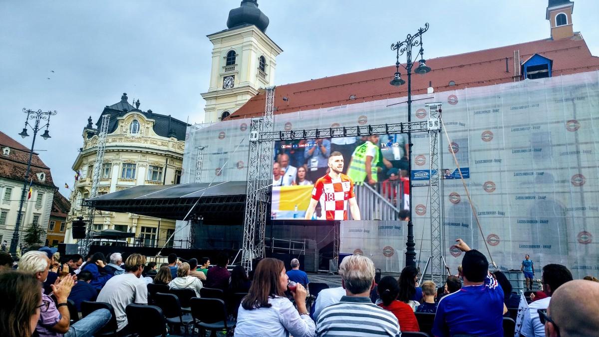 Franța a readus titlul mondial la Paris. Finala CM, văzută în centrul Sibiului
