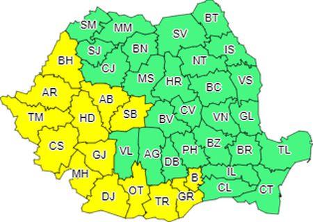 Sibiul sub cod galben de caniculă: temperaturile vor atinge 35 de grade