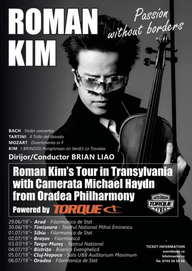 Concert Roman Kim la Sibiu