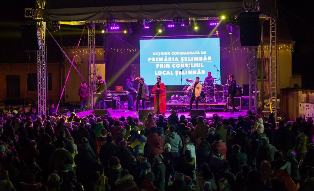 Începe Târgul de Crăciun Șelimbăr - Super concerte cu Fuego, Gașca Zurli, Andra, Vescan și patinoar de peste 800 de metri pătrați