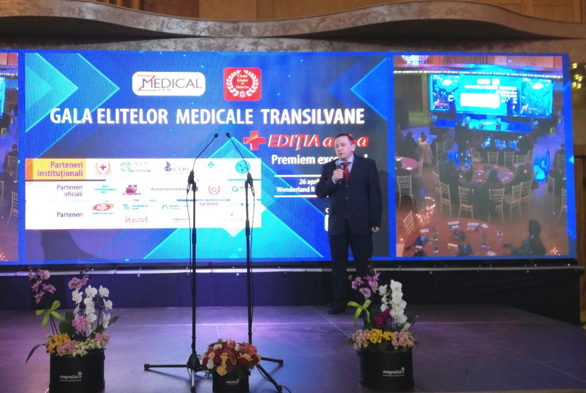 Spitalul Județean și Facultatea de Medicină, premiați la Gala Elitelor Medicale Transilvane