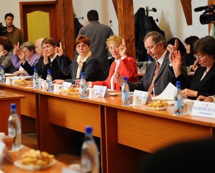 Consilierii județeni și locali propuși de FDGR