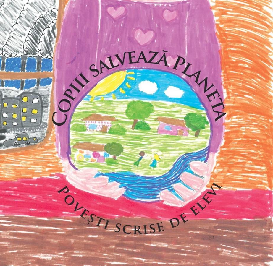 """""""Copiii salvează Planeta"""", carte scrisă de elevi sibieni, lansată săptămâna aceasta"""