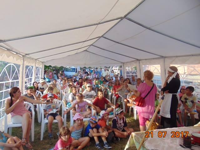 Spectacole de teatru și cărți gratuite pentru copiii din cartierele Sibiului
