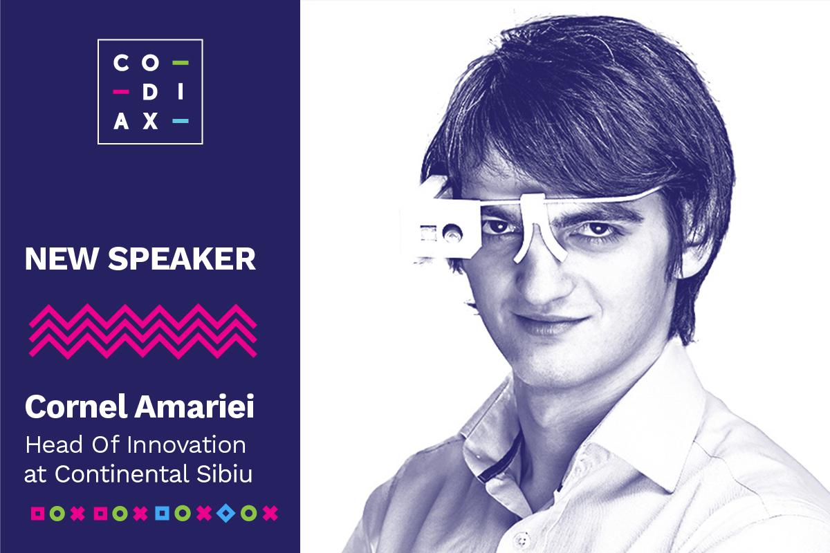Unul dintre cei mai de succes tineri inventatori ai României, speaker la Codiax Sibiu