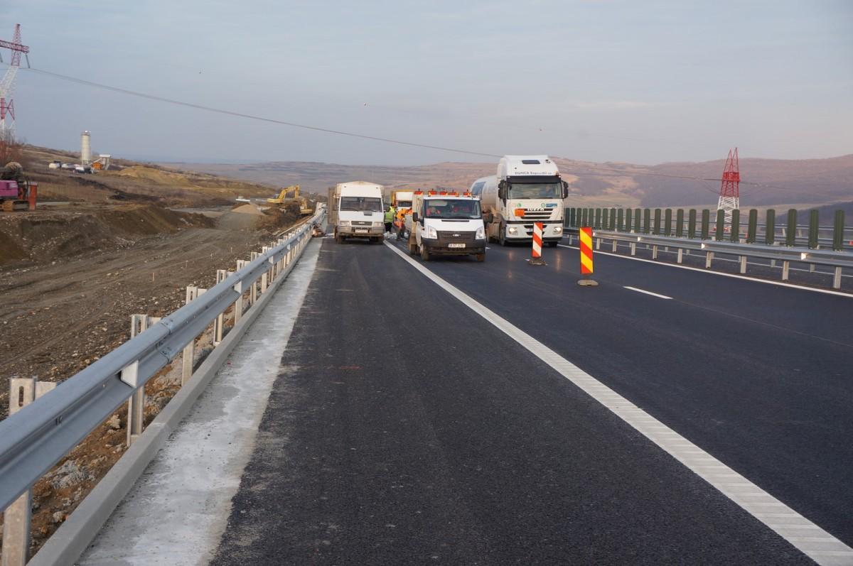 Încă o porțiune din Autostrada Sibiu-Orăștie intră în lucrări