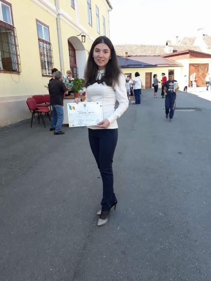 Eleva care a obținut 10 pe linie la Bac: Dacă vrei să înveți nu contează că e școala din Sadu sau Cisnădie