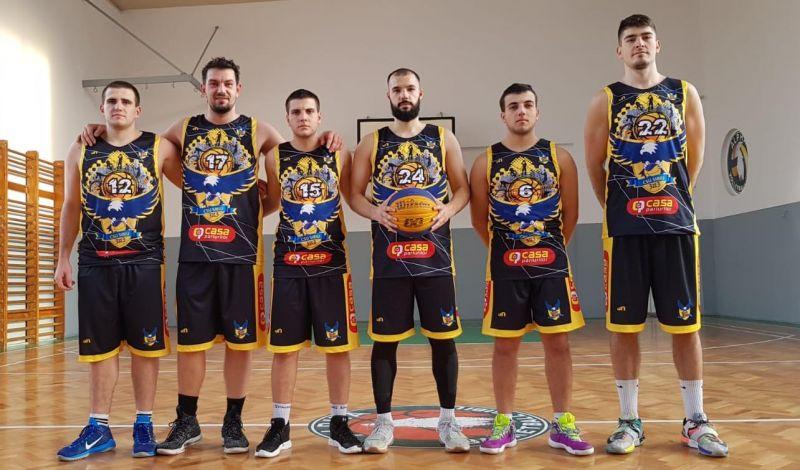Debut de sezon competițional pentru BC CSU Sibiu 3x3