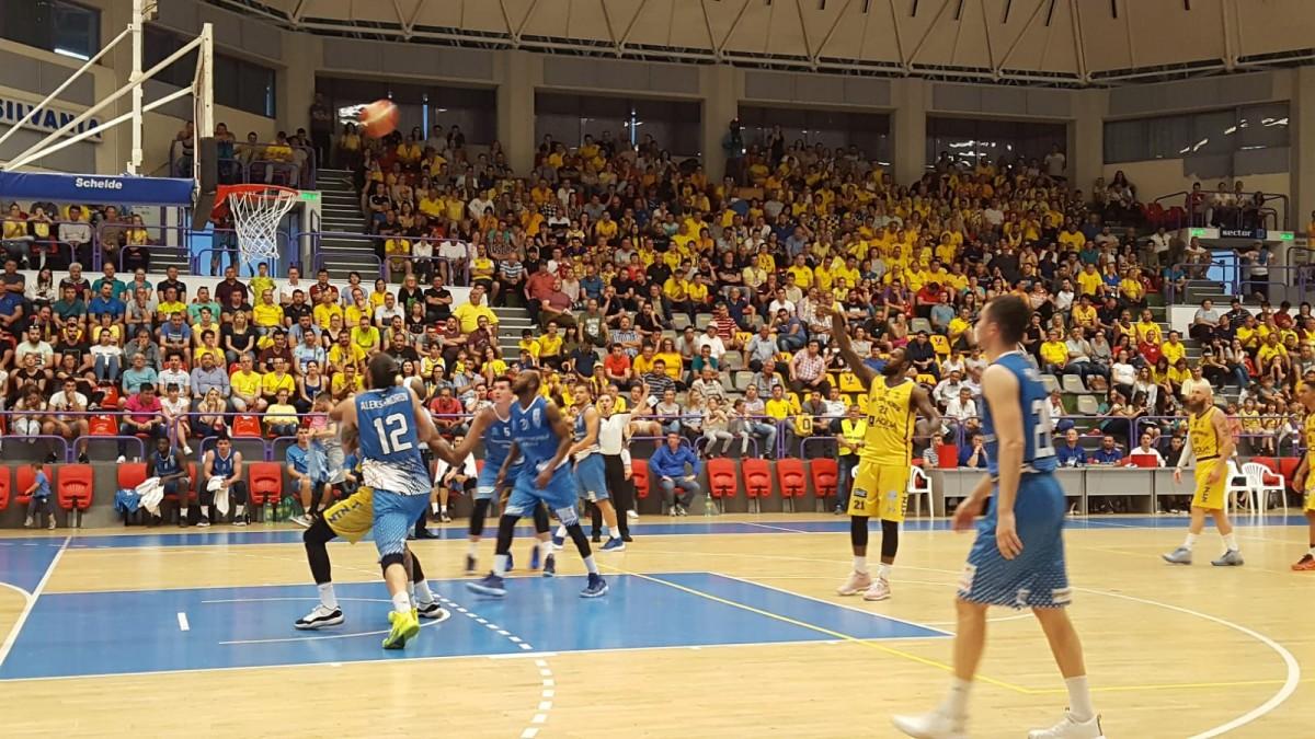 BC CSU Sibiu dobândește prima victorie din play-off, acasă