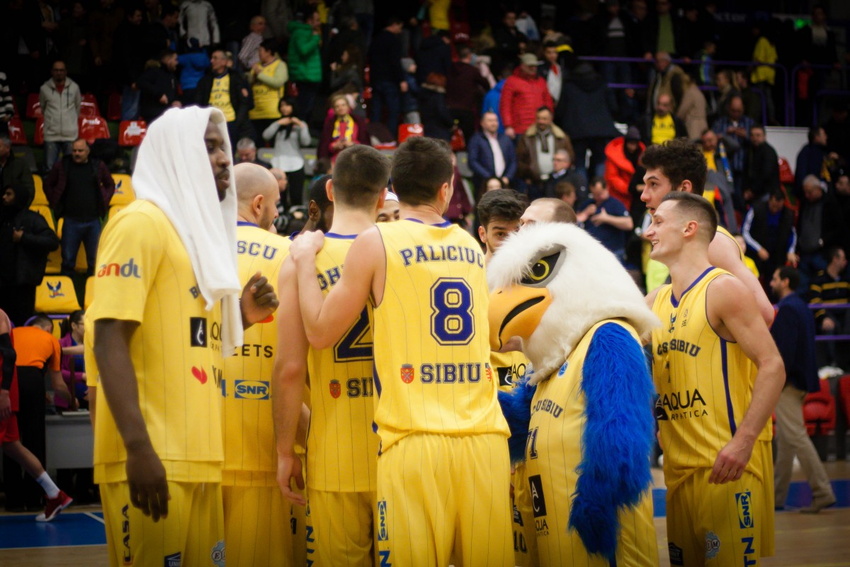 TOP 6: BC CSU SIBIU joacă astăzi în deplasare, cu BC SCM Timișoara