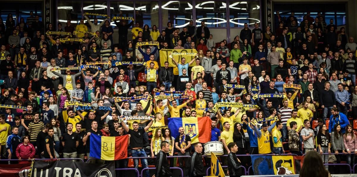 """""""Cu toţii la Cluj"""". CSU Fans organizează deplasarea cu autocarul pentru meciul din play-off cu U-BT"""