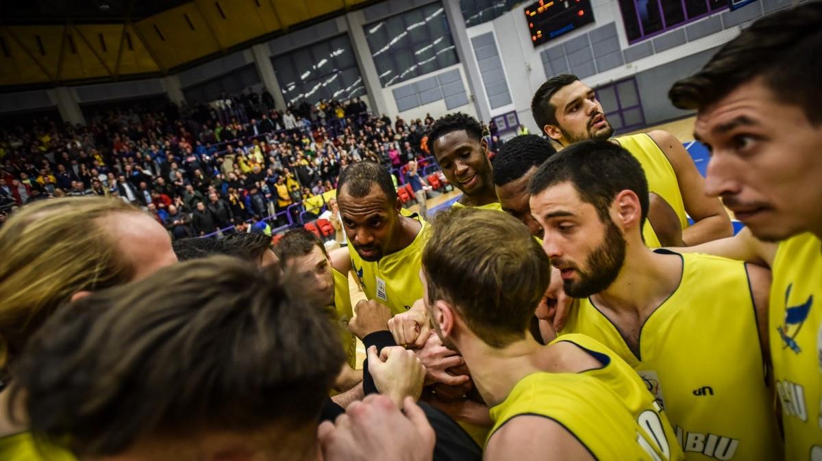 CSU Sibiu încheie returul sezonului regulat pe terenul liderului