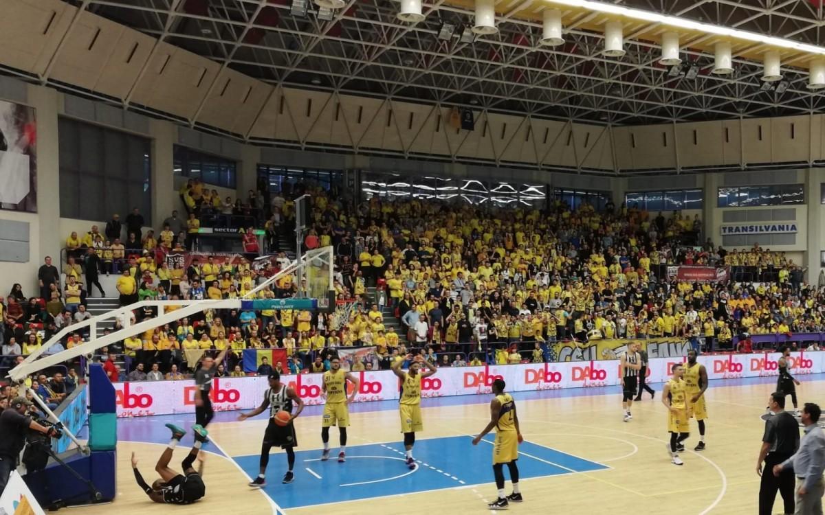 BC CSU Sibiu, fruntași la finalul sezonului regulat