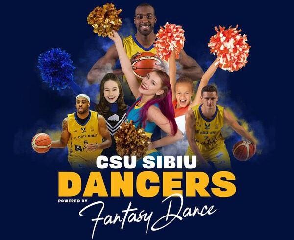 Tinerii talentați ai Sibiului vor dansa în time-out, la meciurile CSU Sibiu de acasă