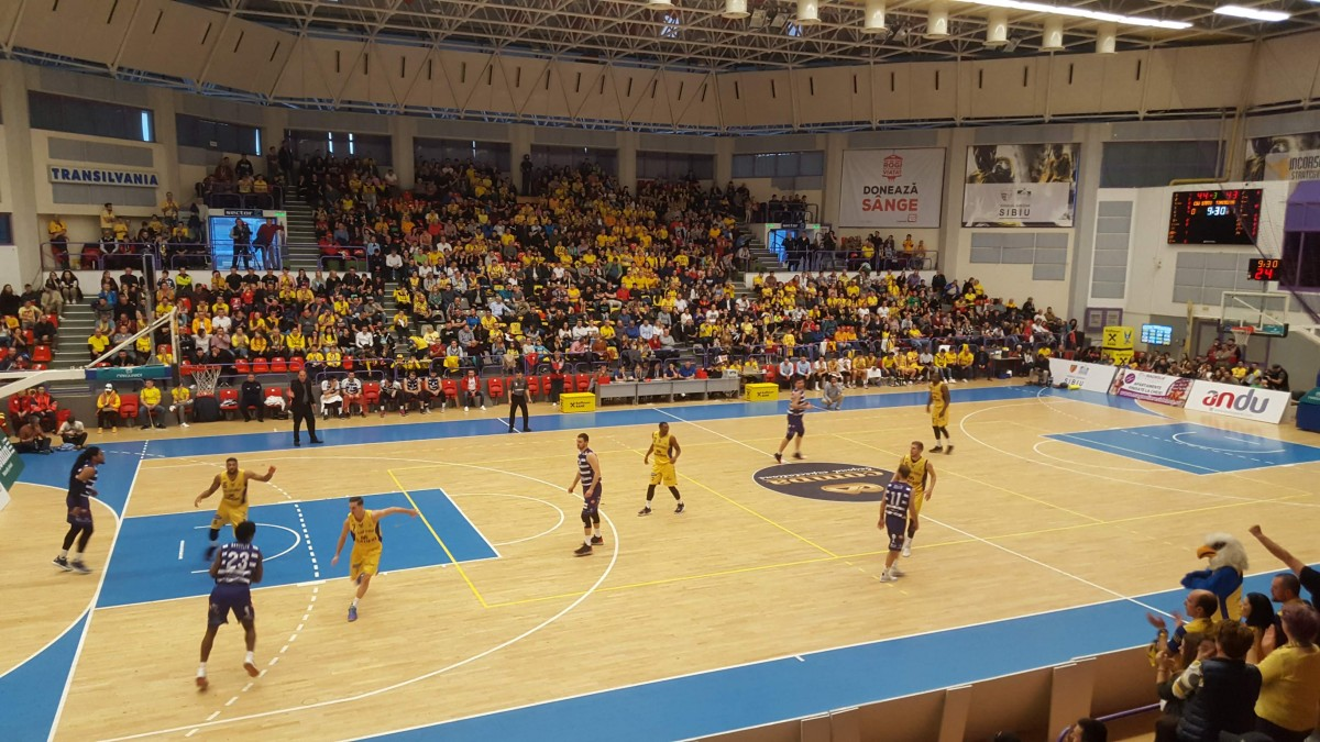 Cupa României: BC CSU Sibiu joacă astăzi cu SCM U Craiova