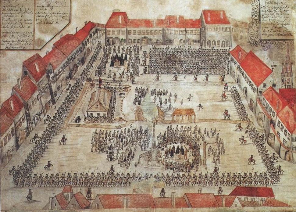 """Cum erau pedepsiți criminalii Sibiului. De la decapitări, spintecări, arși de vii, membre tăiate, până la """"cușca nebunilor"""""""
